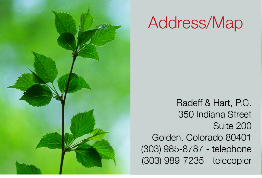 Address/Map